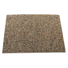 Rubbermaid® Commercial Landmark Series Aggregate Panel, 15.7 x 27.9 x 0.38, Stone, River Rock