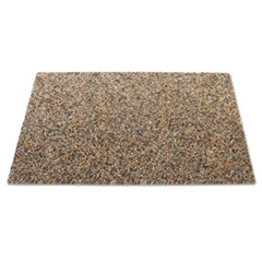 Rubbermaid® Commercial Landmark Series Aggregate Panel, For 50 gal Classic Container, 34.3 x 20.7 x 0.38, Stone, River Rock, 4/Carton