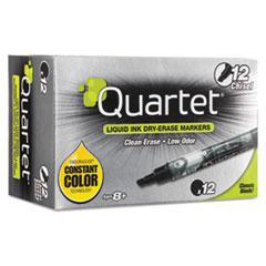Quartet® EnduraGlide Dry Erase Marker, Black, Dozen