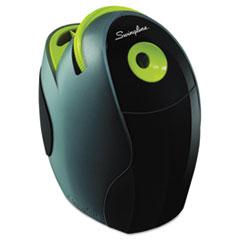 Swingline® SpeedPro Electric Pencil Sharpener, AC, Gray/Green