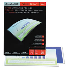 EZUse Thermal Laminating Pouches, 3 mil, 11 1/2 x 9, 100/Box