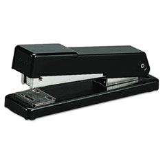 SWI78911 - Compact Desk Stapler, Half Strip, 20-Sheet Capacity, Black