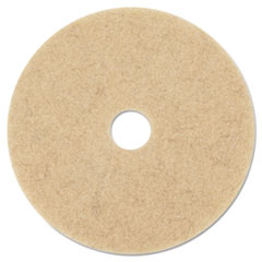 "3M™ Ultra High-Speed Natural Blend Floor Burnishing Pads 3500, 27"" Dia., Tan, 5/CT"