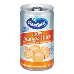 Ocean Spray® 100% Juice, Orange, 5.5 oz Can