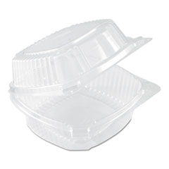 Pactiv ClearView SmartLock Food Containers, 20 oz, 5.75 x 6 x 3, Clear, 500/Carton