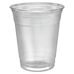 Dart® Ultra Clear Cups, Practical Fill, 12-14 oz, PET, 50/Pack
