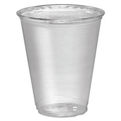 Dart® Ultra Clear Cups, 7 oz, PET, 50/Bag, 1000/Carton