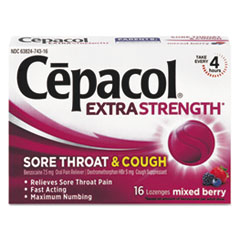 Cepacol® Extra Strength Sore Throat & Cough Lozenges Thumbnail