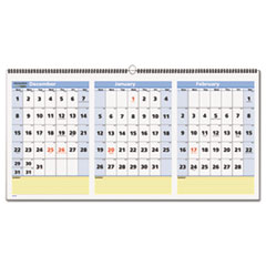 AT-A-GLANCE® QuickNotes® Three-Month Wall Calendar in Horizontal Format Thumbnail