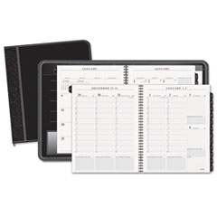 AT-A-GLANCE® Columnar Executive Weekly/Monthly Appointment Book, Zipper, 10 7/8 x 8 1/4, 2020
