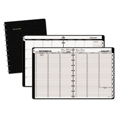 AT-A-GLANCE® Move-A-Page Weekly/Monthly Appointment Book, 11 x 8 3/4, White, 2020