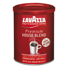 Lavazza Premium House Blend Ground Coffee, Medium Roast, 10 oz Can