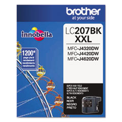 Brother LC2072PKS, LC207BK Ink Thumbnail