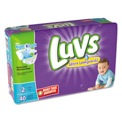 Luvs® Diapers, Size 2: 12 lbs to 18 lbs, 40/Pack, 2 Pack/Carton