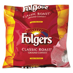 Folgers® Coffee Filter Packs, Regular, 0.9 oz Filter Pack, 40/Carton