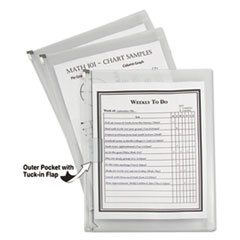 C-Line® Zip 'N Go™ Reusable Envelope with Outer Pocket Thumbnail