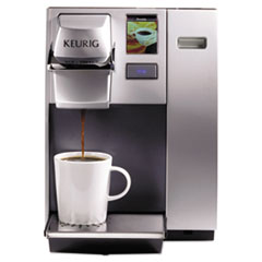 Keurig® OfficePRO K155 Premier Brewing System, Single-Cup, Silver
