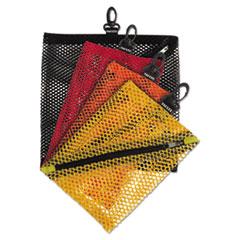 Mesh Storage Bags, Assorted Colors, 4/PK