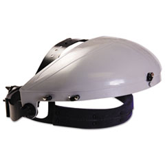 Anchor Brand® Headgear with Ratchet Adjustment, ABS Plastic, Gray