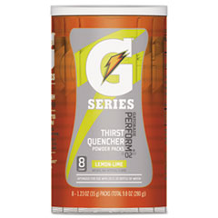 Gatorade® Thirst Quencher Powder Drink Mix, Lemon-Lime, 1.34oz Stick, 8/Carton