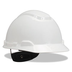 H-700 Series Hard Hat with 4 Point Ratchet Suspension, White