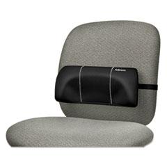 Fellowes® Lumbar Back Support, 12w x 3.13d x 5.19h, Black