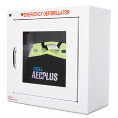 ZOLL® AED Wall Cabinet, 17w x 9 1/2d x 17h, White