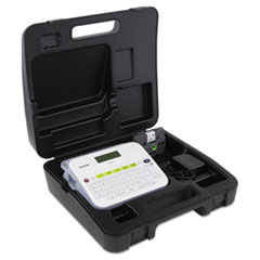 Brother P-Touch® PTD400VP Versatile, Easy-to-Use Label Maker with Carry Case and Adapter, 7.5w x 7d x 2.88h