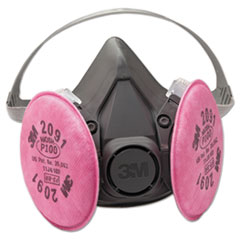 3M™ Half Facepiece Respirator 6000 Series, Reusable