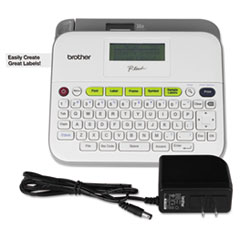 PTD400AD Versatile, Easy-to-Use Label Maker with AC Adapter 7.5w x 7d x 2.88h