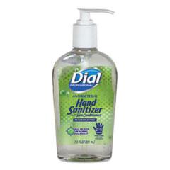 Antibacterial with Moisturizers Gel Hand Sanitizer, 7.5 oz, Pump, Fragrance-Free