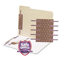 "Smead® SafeSHIELD Fasteners, 2"" Capacity, Purple, 50/Box"