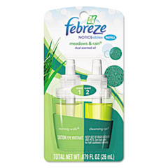 Febreze® NOTICEables Refills, Meadows & Rain, 0.87 oz Refill, 8/Carton PGC45541