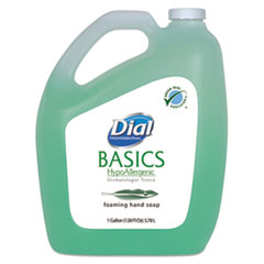 Dial® Professional Basics Foaming Hand Soap, Original, Honeysuckle, 1 gal Bottle, 4/Carton