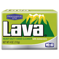 Lava® Hand Soap, Bar, Pleasant Fragrance, 4 oz, 48/Carton