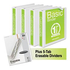 Wilson Jones® Basic Round-Ring View Binder Plus Pack Thumbnail