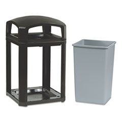 Rubbermaid® Commercial Landmark Series® Classic Dome Top Container