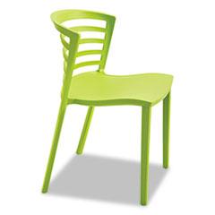 Entourage Stack Chair, Grass