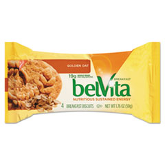 Nabisco® belVita Breakfast Biscuits, Golden Oat, 1.76 oz Pack