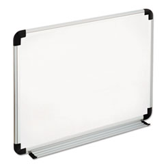 Universal® Deluxe Melamine Dry Erase Board with Aluminum Frame Thumbnail
