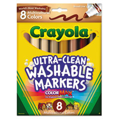 Crayola® Multicultural Colors Washable Marker