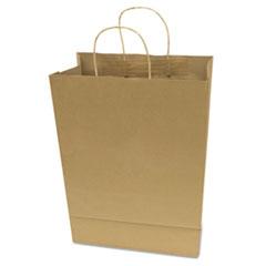 "Premium Shopping Bag, Brown Kraft, 10"" X 13"", 50/box"