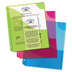 Avery® Corner Lock™ 3-Pocket Binder Pockets Thumbnail