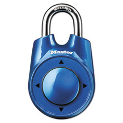 "Master Lock® Speed Dial Set-Your-Own Combination Lock, 2"" Wide, Assorted"