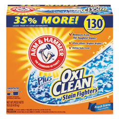 Arm & Hammer™ Power of OxiClean Powder Detergent, Fresh, 9.92 lb Box, 3/Carton