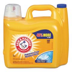 Arm & Hammer® Dual HE Clean-Burst Liquid Laundry Detergent, 210oz Bottle CDC3320000106