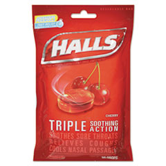 Halls® Triple Action Cough Drops