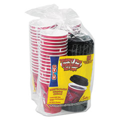 Dart® Trophy® Plus™ Dual Temperature Insulated Cups & Lids Combo Pack Thumbnail