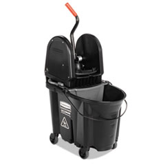 Rubbermaid® Commercial Executive WaveBrake™ Down-Press Mop Bucket