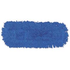 Rubbermaid® Commercial Twisted Loop Blend Dust Mop, Synthetic, 24 x 5, Blue, Dozen